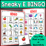 Sneaky E BINGO (Long Vowel Game)