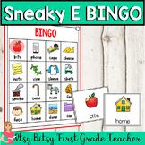 Sneaky E BINGO (Long Vowel Game)