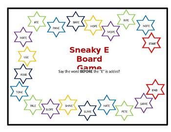 Sneaky E Board Game
