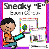 Sneaky E Boom Cards | Distance Learning