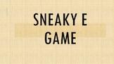 Sneaky E Game