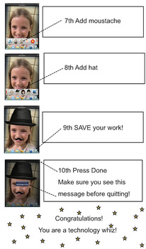 Sneaky E Step By Step iPod/iPad Direction Sheets