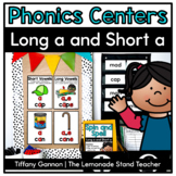 Long A and Short A Word Word Packet