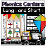 Long I and Short I Word Work Activities