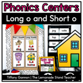 Long O and Short O Word Work Activities