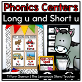 Sneaky E Word Work Activities {long and short u}