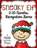 Sneaky Elf Game {0-30 Number Recognition}