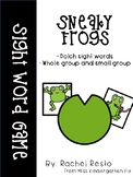 Sneaky Frog Sight Word Game