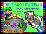 Sneaky Leprechaun CVC Activity
