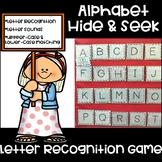 Alphabet Hide & Seek-Letter Recognition Game