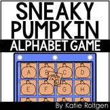 Sneaky Pumpkin Alphabet Game