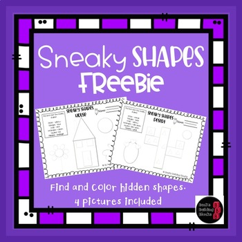 Sneaky Shapes