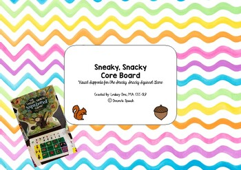Sneaky, Snacky Squirrel Core Board