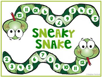 Sneaky Snake Math Game