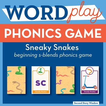 Sneaky Snakes Beginning S-Blends Phonics Game