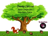 Sneaky Squirrel - Articulation Pictures #sep2020halfoffspeech