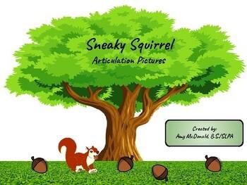 Sneaky Squirrel - Freebie