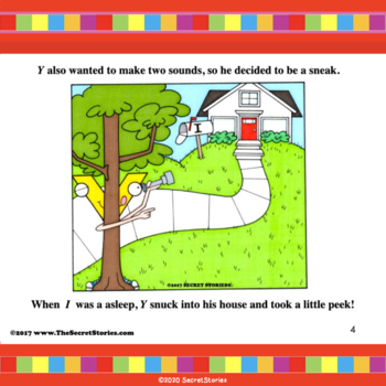 """""""Sneaky Y®'s Secret!"""" w/ Guided Reader Phonics Puppet Craft for 3 Sounds of Y"""