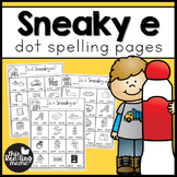 Sneaky e Dot Spelling Pages