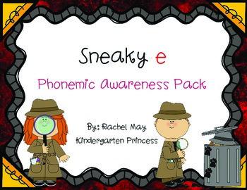 Sneaky e Phonics Pack