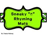 "Sneaky ""e"" Rhyming Mats"