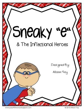 """Sneaky """"e"""" and the Inflectional Heroes"""