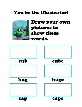 Sneaky e worksheets