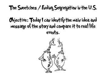 Sneetches / Segregation in the U.S.