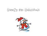 Sneezy The Snowman - Book Companion