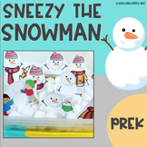 Sneezy The Snowman Book Companion for Speech Therapy and Circle Time