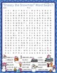 Sneezy the Snowman Activities Wright Crossword Puzzle and Word Searches