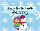Sneezy the Snowman Activity