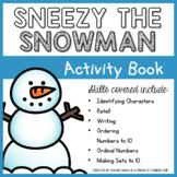 Sneezy the Snowman Activity Book