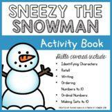 Sneezy the Snowman Activity Book