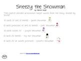 Sneezy the Snowman: Articulation