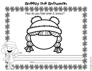 Sneezy the Snowman Book Compaion
