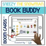 Sneezy the Snowman Book Companion | Boom Cards™️ Deck | Te