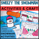 Sneezy the Snowman Book Activities