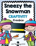 Sneezy the Snowman: Craftivity