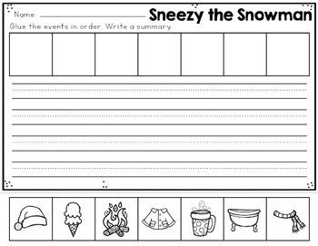 Sneezy the Snowman Interactive Read Aloud Kit