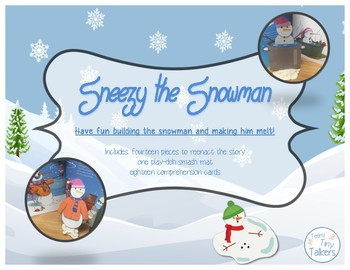 Sneezy the Snowman: Language Activities