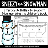 Sneezy the Snowman! Literacy Activities
