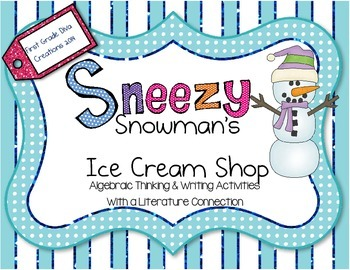 Winter Activities {Sneezy the Snowman Printable Math & Writing}
