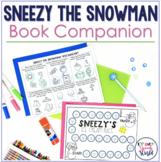 Sneezy the Snowman:  No Prep Speech & Language Activities