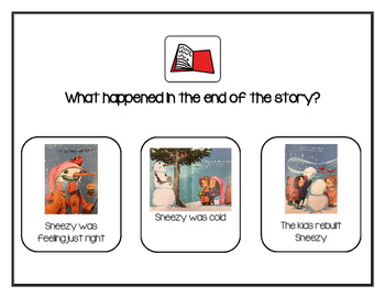 Sneezy the Snowman Shared Reading
