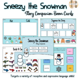 Sneezy the Snowman Story Companion (Boom Cards)