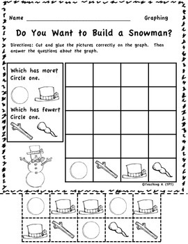 Sneezy the Snowman Winter Literacy and Math Bundle