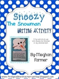 Sneezy the Snowman {Writing Craftivity}