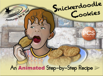 Snickerdoodle Cookies - Animated Step-by-Step Recipe - PCS