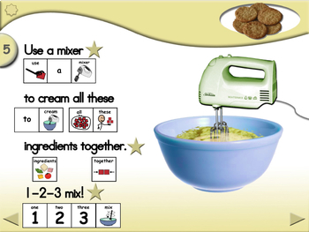 Snickerdoodle Cookies - Animated Step-by-Step Recipe - SymbolStix